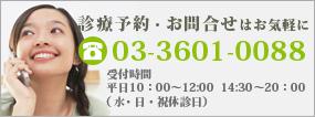 TEL 03-3601-0088